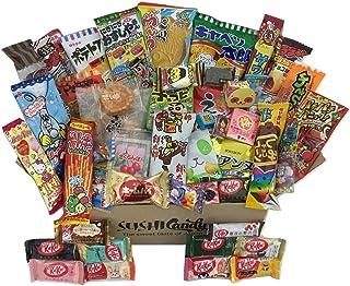 50 japanische Süßigkeiten, 40 Süßigkeiten und Snacks sow