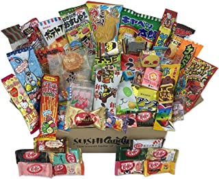 50 Japanese Candy & Snack POPIN COOKIN box set , big Japanese kitkat assortment (10 pieces) and other popular sweets