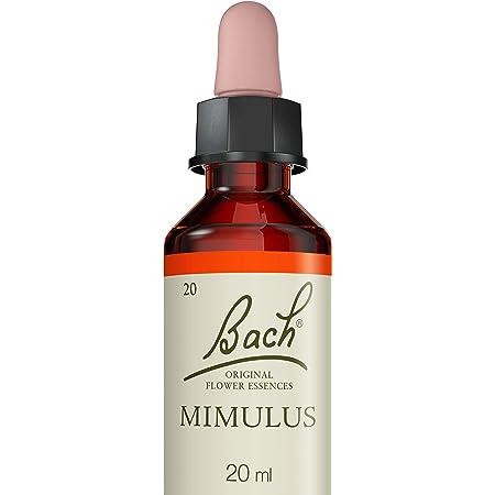 Fleurs de Bach Original Mimule tacheté, Mimulus, Aide à surmonter une situation, Vegan, Complément alimentaire, 1 Flacon Compte Gouttes x 20 ml