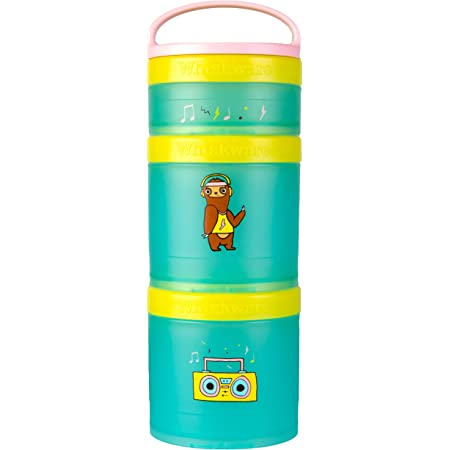 Teal Whiskware Stackable Snack Pack