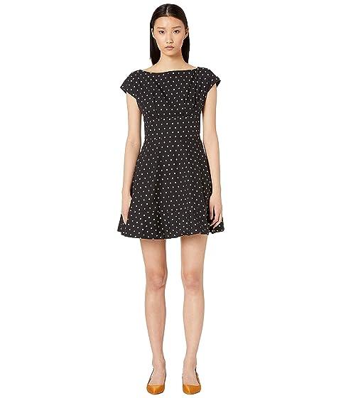 Kate Spade New York Dot Cotton Fiorella Dress