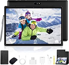 10.1 inch Tablet with Keyboard Case Quad-Core 1.3Ghz Processor, 3 GB RAM, 32 GB Storage, Android 9.0 (Go Edition) 1280x800...