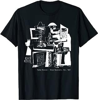 Pablo Picasso Three Musicians 1921 T Shirt, Artwork