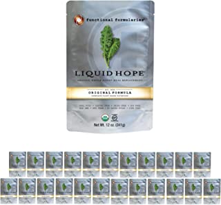 Functional Formularies Liquid Hope Organic Tube Feeding Formula and Nutritional Meal Replacement Supplement, 24 Pack