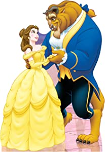 Advanced Graphics Belle & Beast Life Size Cardboard Cutout Standup - Disney's Beauty and The Beast