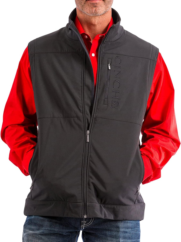 Cinch Men's Bonded Concealed Carry NEW Up - Zip Many popular brands Vest Mwv108201x