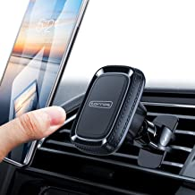 TORRAS Anti-Shake Magnetic Car Mount Air Vent Cell Phone Holder for Car Compatible with iPhone 11/11 Pro/Xs/XS Max /8 plus/7/6, Galaxy S10 plus/S9+/ Note10/Note9 and Other Phones iPad mini, Black