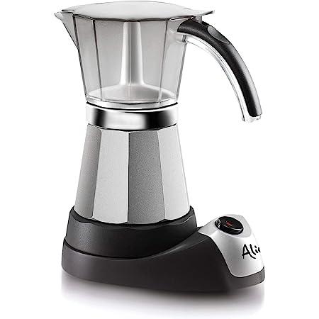 Longhi Alicia Plus EMKM4.B Machine Du Café Éléctrique Moka 450 Watt