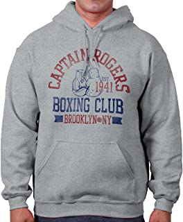 Captain Fighting Boxing Club Superhero Nerd Hoodie