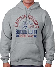 Captain Fighting Boxing Club Superhero Nerd Hoodie