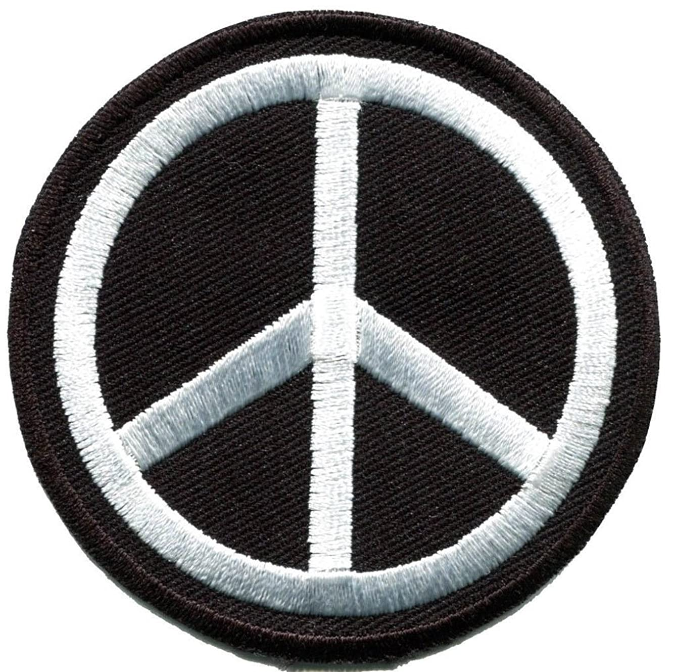Peace Sign Hippie Retro Flower Power Weed Love Applique Iron On Patch
