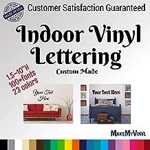 Best custom vinyl decals wall Reviews