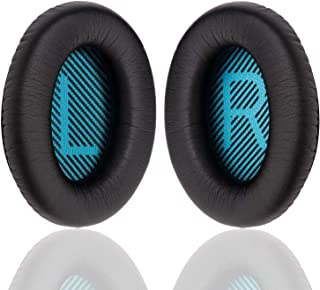 Ear Pads Cushions for Bose Headphones, Professional Replacement Earpads for QC15 QC25 QC2 QC35/ Ae2 Ae2i Ae2w SoundTrue & ...