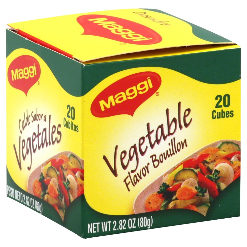 Maggi Veggie Bouillon Sales results No. 1 Cube 2.82 Pack OZ 4 of Excellent
