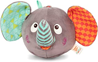 B. toys – Elephantabulous – Interactive Plush Peek-a-Boo Elephant with Sounds – Newborn Baby Toys