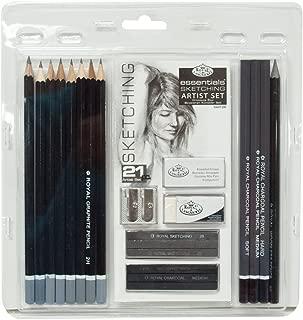 Royal & Langnickel RART200 - Set de lápices para bocetos