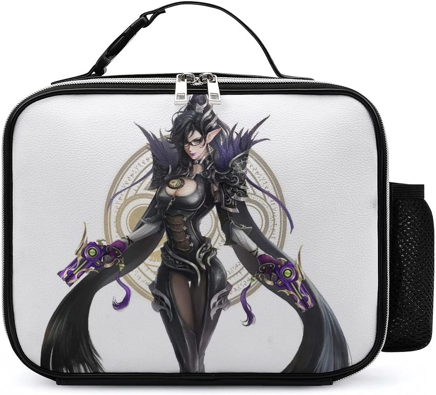 Lunch Boxes Bayonetta Leather Bag All items SEAL limited product in the store Reusable Tote Insulated