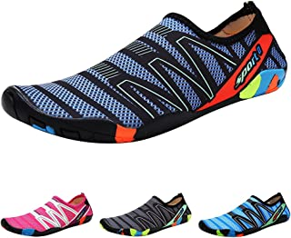 Padgene Unisex Water Shoes, Hombres Mujeres Pies Descalzos,