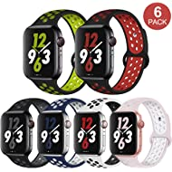 OriBear Compatible for Apple Watch Band 44mm 42mm 40mm 38mm, Breathable Sporty for iWatch Bands...