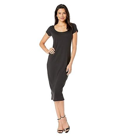 Alternative Scoop Midi Dress (Black) Women