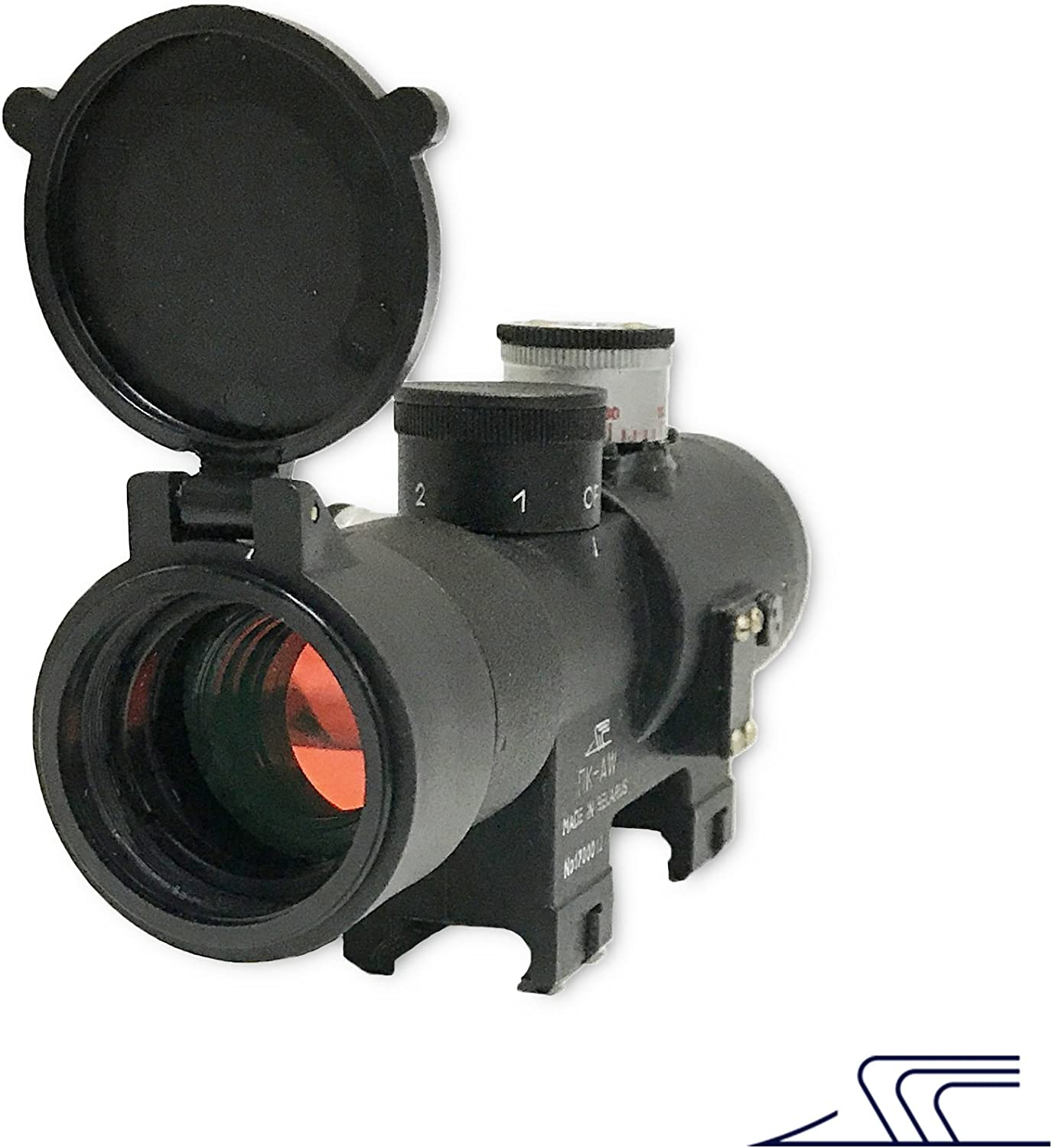 PKAW Russian BelOMO Collimator Sight Red Dot Rifle Scope Weaver Mount