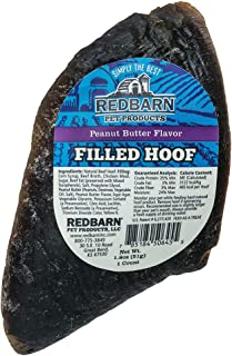 Redbarn Filled Hooves-Peanut Butter (5-Count)