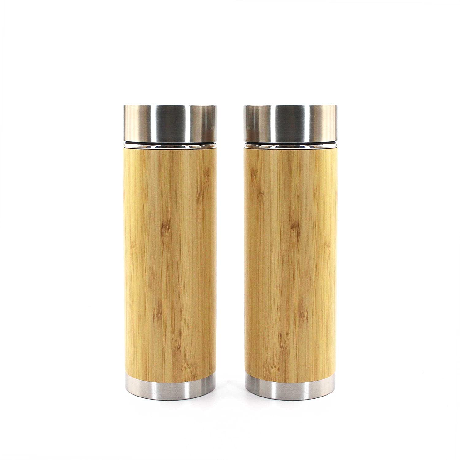 Bamboo Insulated Thermos with Removable Ranking TOP8 Tea Infuser Max 86% OFF 10oz 2 - P