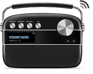 SAREGAMA Carvaan SC01 Portable Digital Music Player - Hindi (with App WiFi, Black)