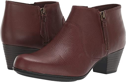 Mahognay Tumbled Leather