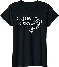 Funny Crawfish Shirt Funny Cajun Queen TShirt for Women Girl