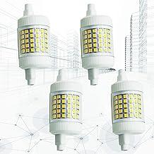 4X 12W R7S LED 78Mm Gloeilamp Dimbare 360 ° Dubbele Eindigde LED-Lamp R7S Schijnwerperslamp J78 (3.07 '') 120W Halogeen ...