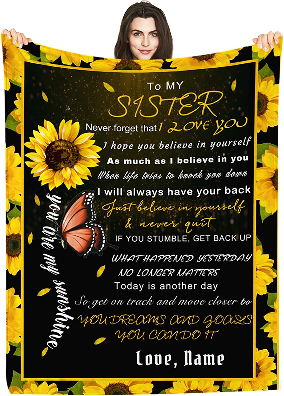 Ranking TOP6 Personalized Custom Name Blanket Love Letter Sister My Ranking TOP17 Butte to