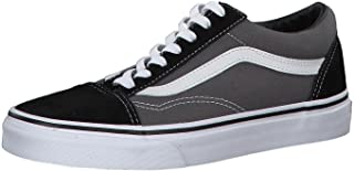 Unisex Old Skool Classic Skate Shoes, Black/Pewter, Men's...