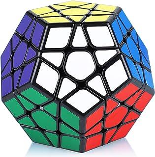 Maomaoyu Megaminx Dodécaèdre Cube 3x3 3x3x3 Speed Magic Cube 12 Faces Puzzle Twist Noir