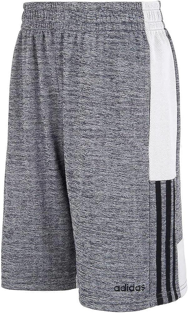 adidas Boys' 3G Speed X Shorts (S(8), Charcoal Grey White)