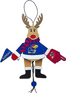NCAA Wooden Cheer Ornament