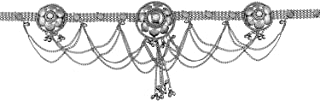 Peora Oxidised Finish Belly Chain Kamar Patta Kamarband Jewellery for Women