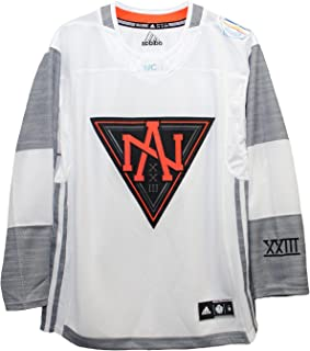 adidas Men's North America White 2016 World Cup of Hockey Premier Blank Jersey