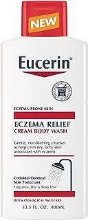 Eucerin Eczema Relief Cream Body Wash, Gentle Cleanser for Eczema-prone Skin, 13.5 Fl Oz