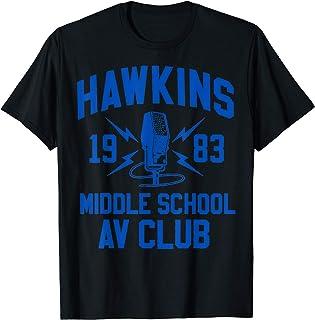 Netflix Stranger Things Hawkins Middle School AV Club 1983 T-Shirt