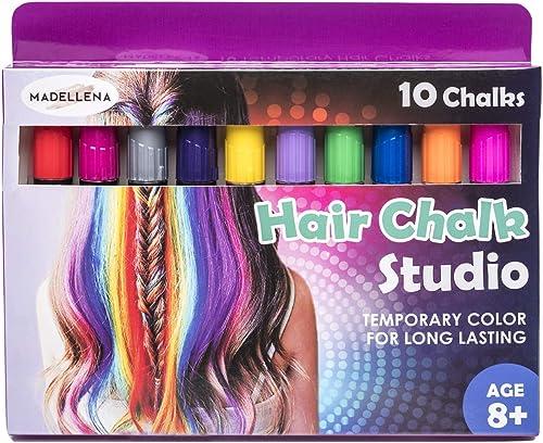 Kids Temporary Hair Colours Fun Hair High Light Hairlights Activity Creative Kit