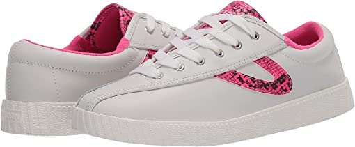 Vintage White/Fluo Pink
