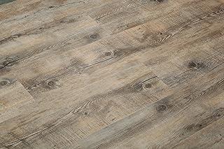 8.7mm Extra Thick Click Lock Luxury Vinyl Flooring Plank 100% Waterproof w/EVA underpad: 47.28sqft($4.21/sqft): Superior w...