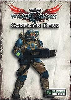 Ulisses Wrath & Glory 40K: Campaign Card Deck (55 Card Deck)