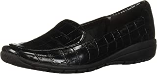 Easy Spirit Women's Abriana3 Loafer, Black 001, 7.5 Wide