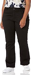 Riders by Lee Indigo Womens Plus Size Stretch No Gap Waist Bootcut Jean Jeans