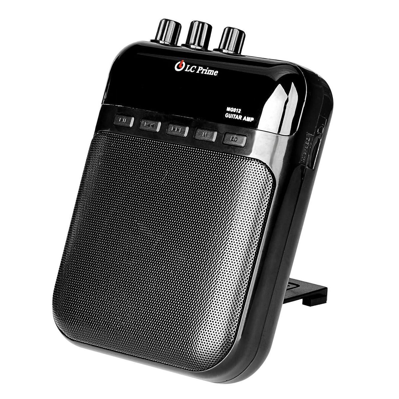 健全日常的に高揚したLC Prime ギターアンプ 音響 増幅器 充電式 ポータプル 練習用 ベース、ウクレレ、エレキギター、バイオリン用
