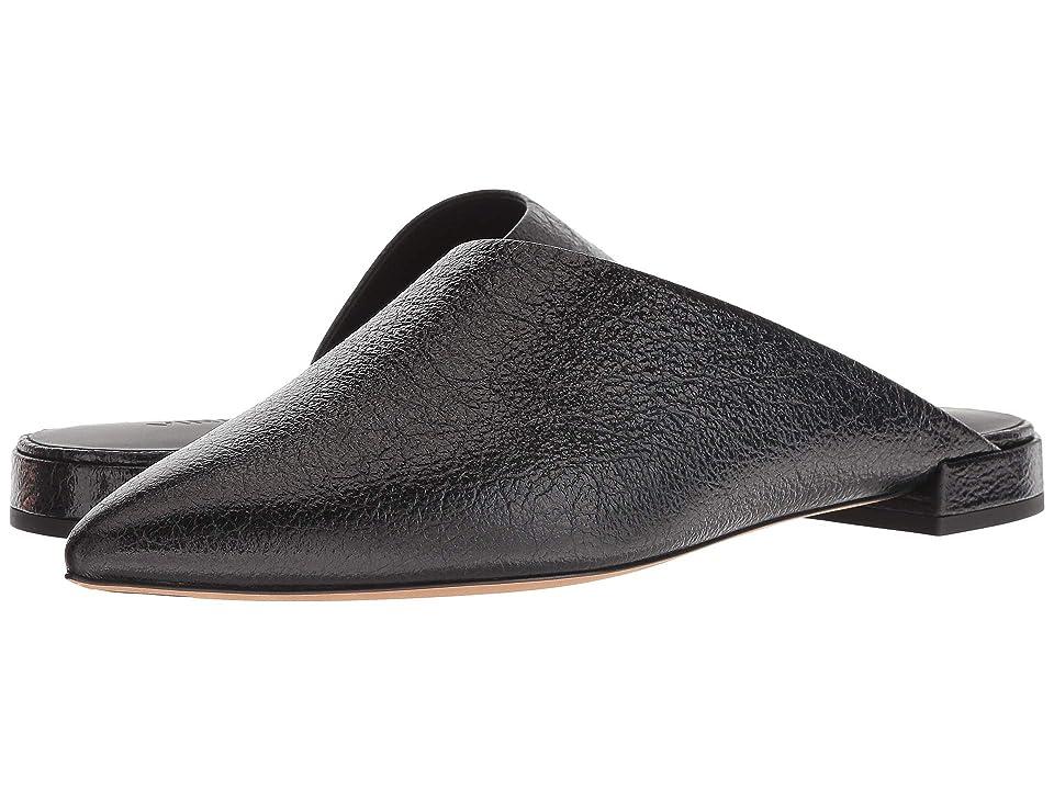 Vince Danna (Black Crinkle Patent Leather) Women