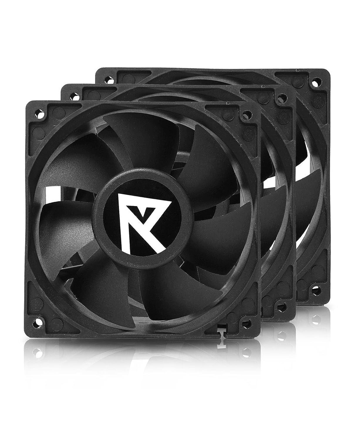 Hydra 120mm 4200rpm High Speed Fan for GPU Mining Rig Servers, 3 Pack