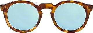 MR.BOHO - High-Contrast tortoise jordaan with sky blue lenses - Gafas De Sol unisex multicolor (carey), talla única
